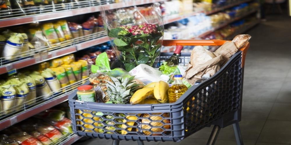 スーパーの入場規制