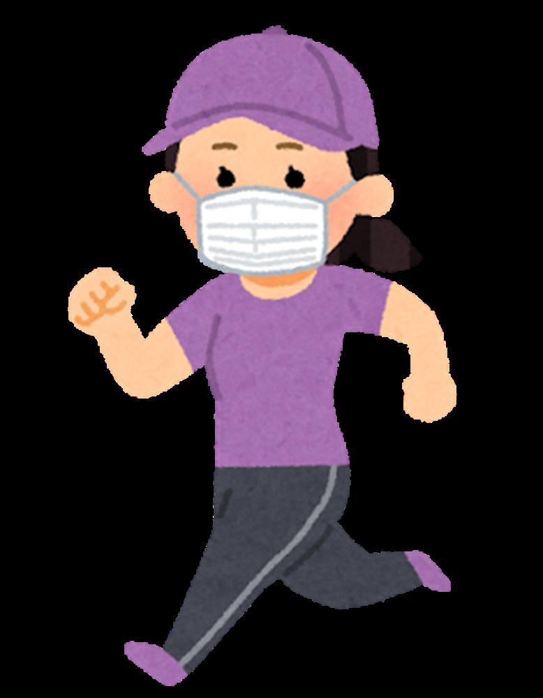 「ASICS RUNNERS FACE COVER」はマスクをつけたままジョギングができる?