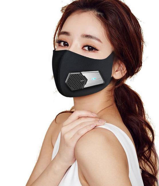 マスク用扇風機「エアーバブル」